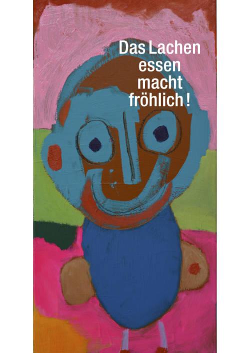 postkarten-plakate-kunst-menschen-behinderung-lachen-essen