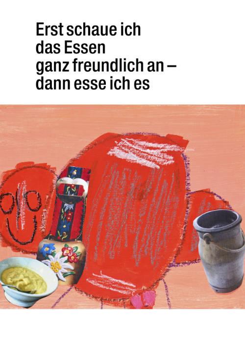 postkarten-plakate-kunst-menschen-behinderung-essen-freundlich