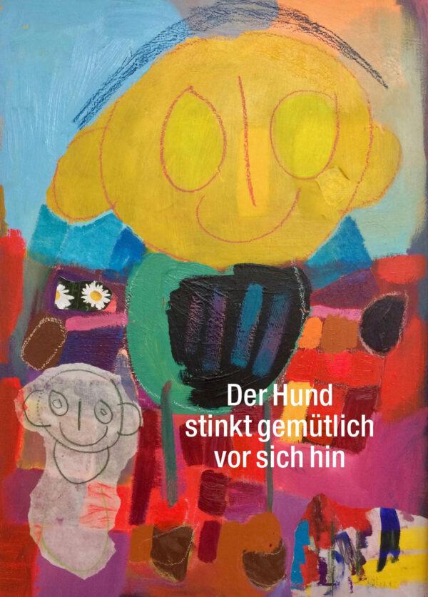 postkarten-plakat-ich-bin-da-hund-gemütlich